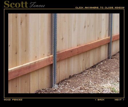 fence with steel post master posts view full size lowes for wood metal brackets