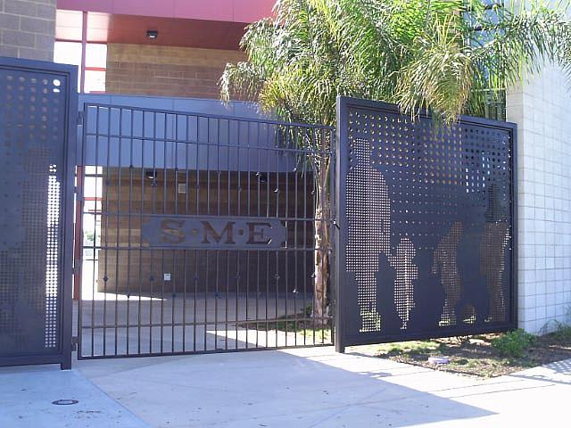 Revamped Gate for San Marcos Elementary School