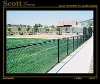 BASEBALL FIELD BACKSTOP AND FENCING BLACK MOUNTAIN RANCH